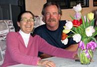 Brigitte and Larry Jordan